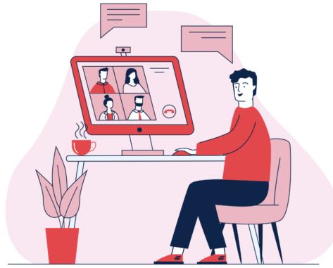 functional language for online meetings